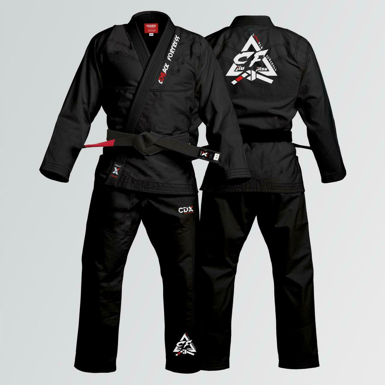 "Kimono for the Brazilian Jiu Jitsu for the club ""Cossack Fortress"""
