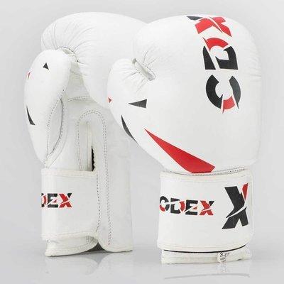 Боксерские перчатки из натуральной кожи CDX WHT