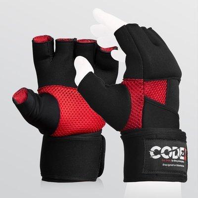 Гелевые перчатки для бокса. Быстрые бинты.