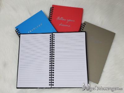 Motivational Journals (spiral bound)