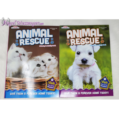 Animal Rescue Coloring Books