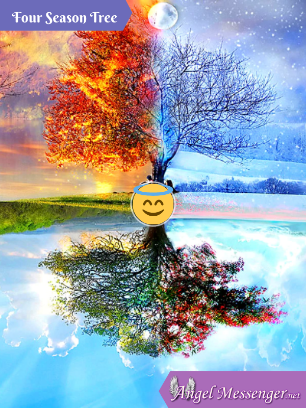 Four Season Tree 5D DIY Diamond Painting Kit