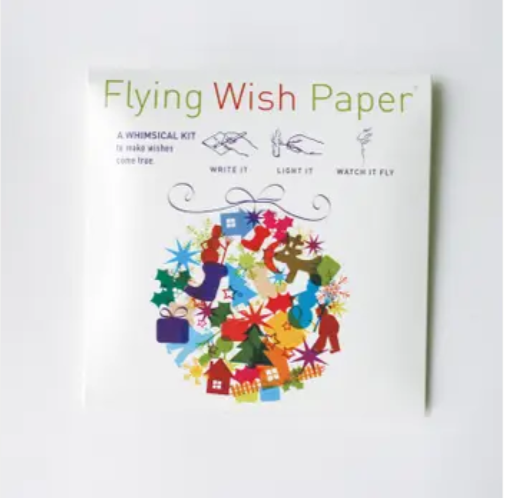 Holiday Ball Flying Wish Paper