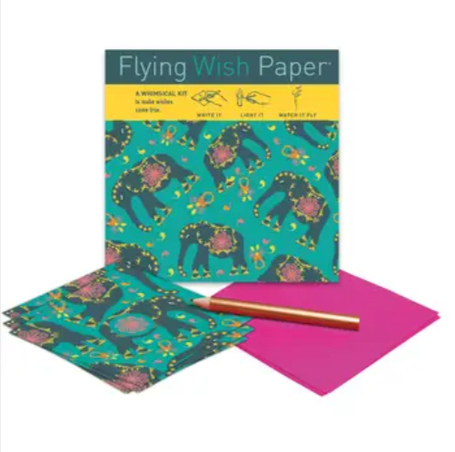 Elephant Flying Wish Paper