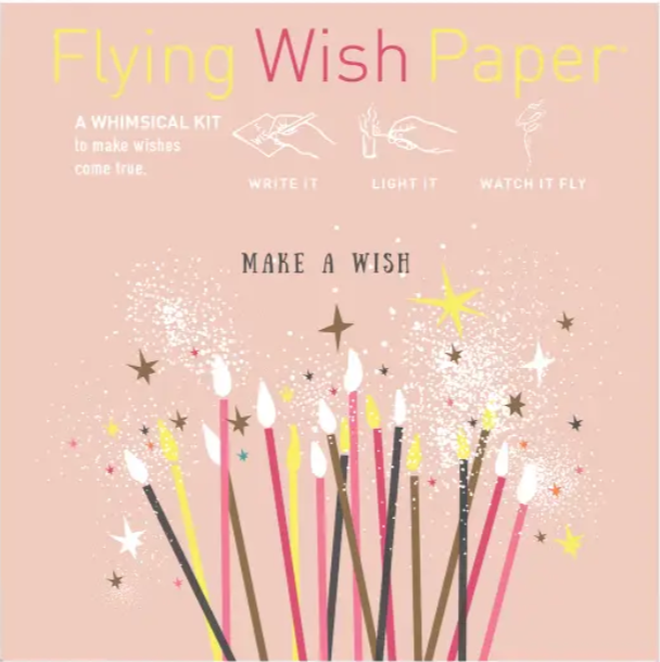 Make a Wish Flying Wish Paper