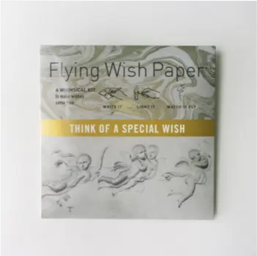 Angel Flying Wish Paper