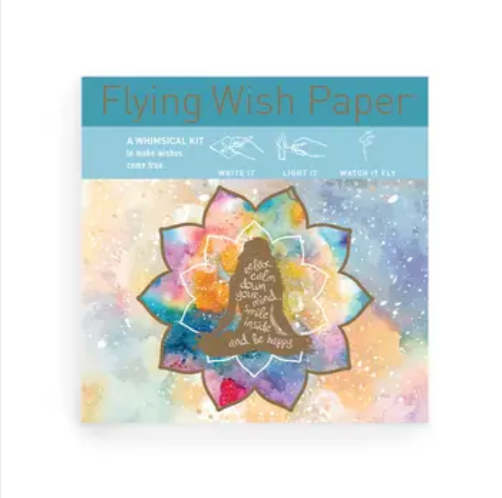 Mindful Flying Wish Paper