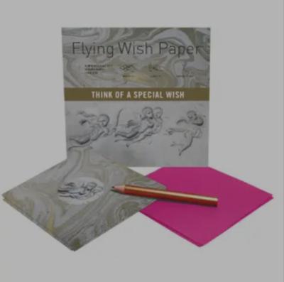 Angel Flying Wish Paper