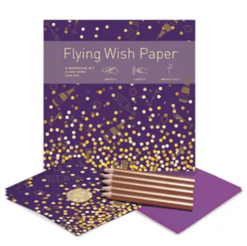 Champagne Dreams Flying Wish Paper (50 Wishes!)