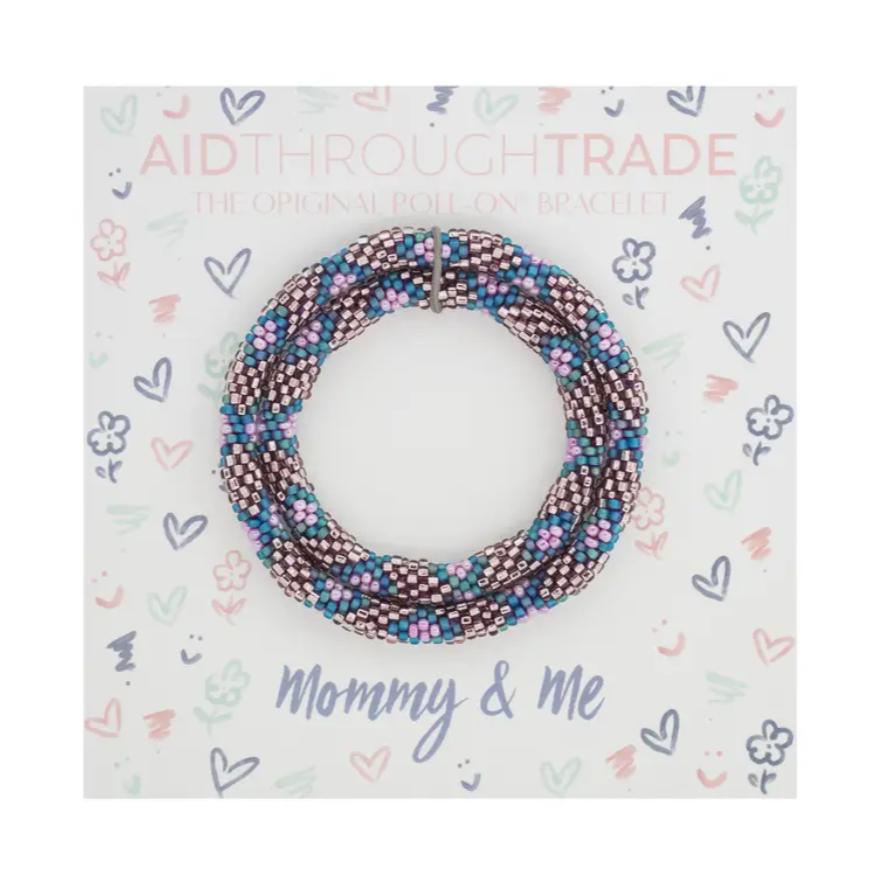Mommy & Me Roll-On® Bracelets Mermaid