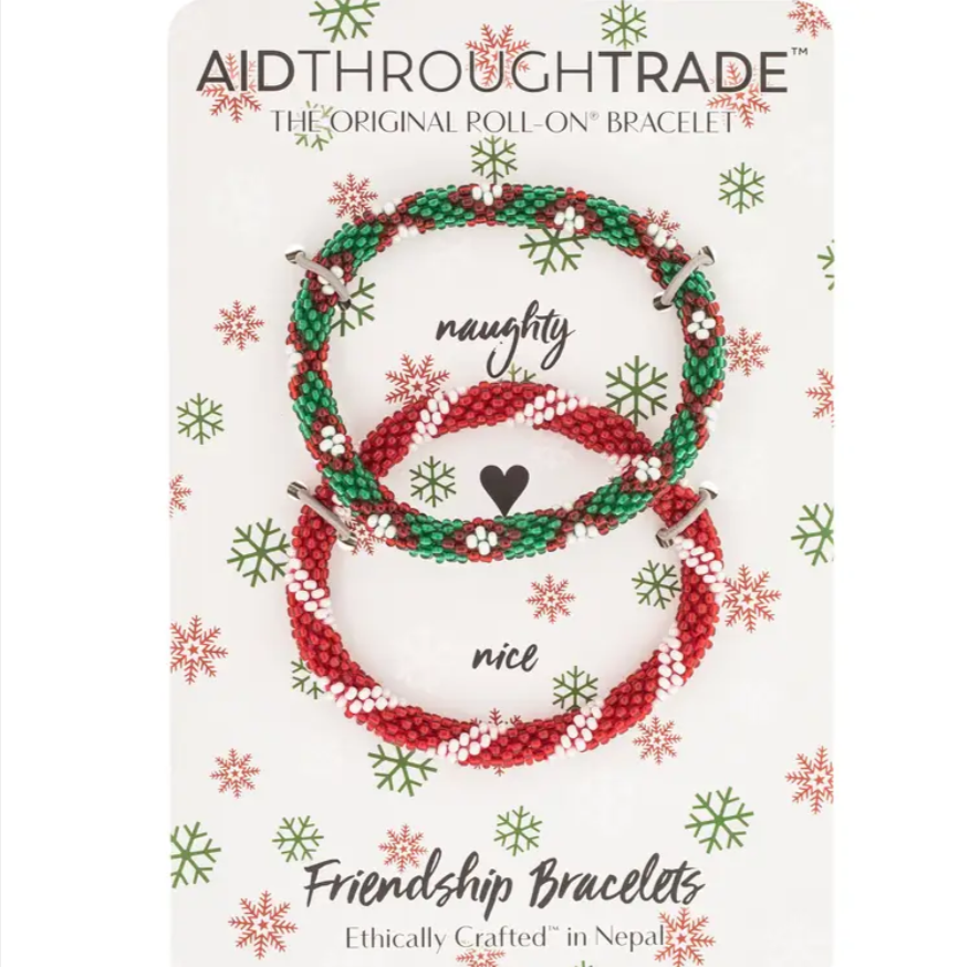 Mistletoe Roll-On® Friendship Bracelets