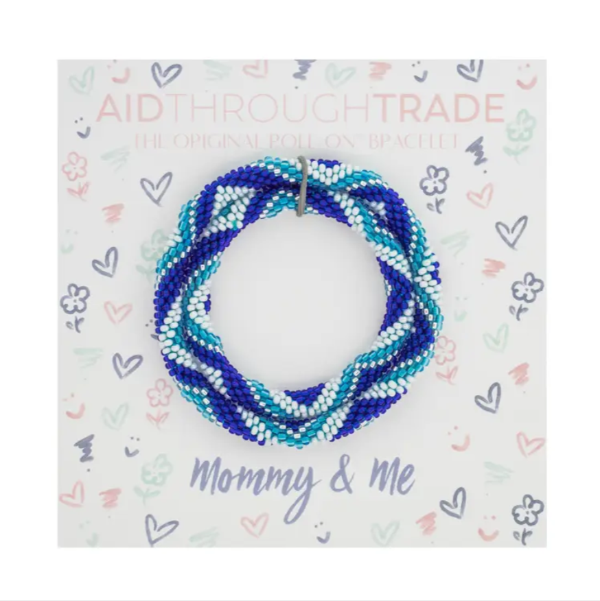 Mommy & Me Roll-On® Bracelets Dolphin