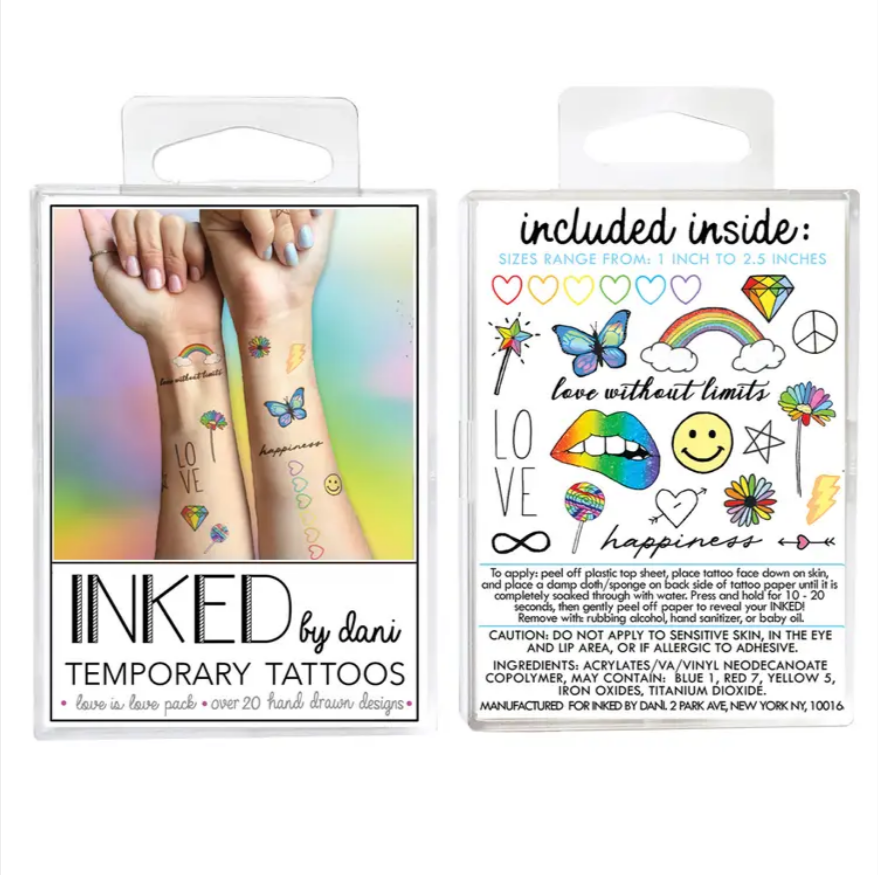 Love is Love Pack (Temporary Tattoos)