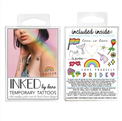 Rainbow Pack (Temporary Tattoos)
