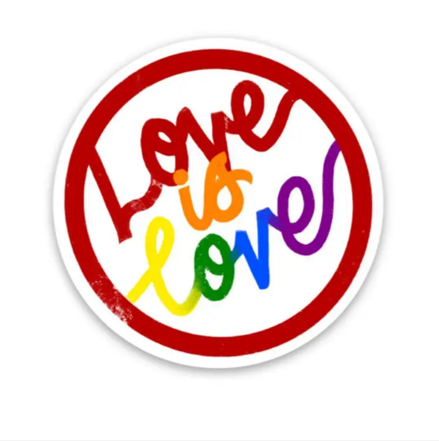 Love is Love - Circle Sticker