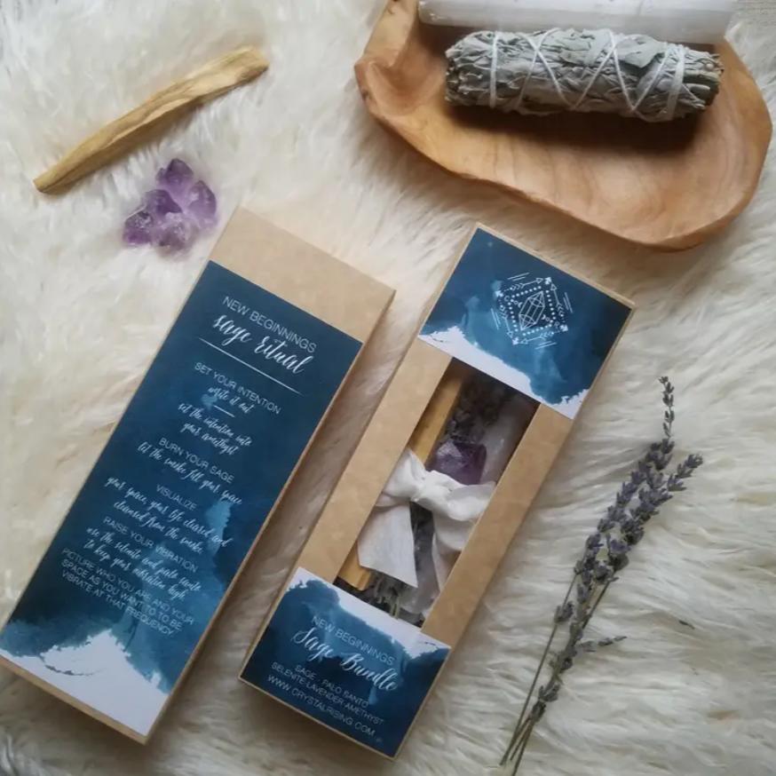 New Beginnings Sage Bundle Gift Set