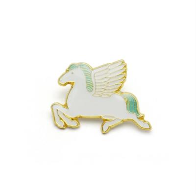 Pegasus Enamel Pin (Black or White)