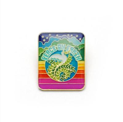 Peace On Earth Enamel Pin