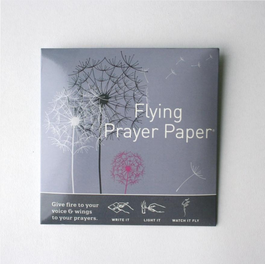 Dandelion Prayer Flying Wish Paper