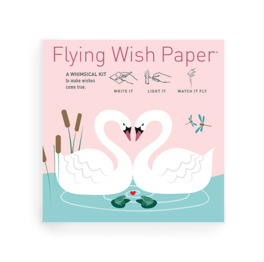 Swan Lake Love Wish Paper