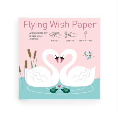 Swan Lake Love Wish Paper