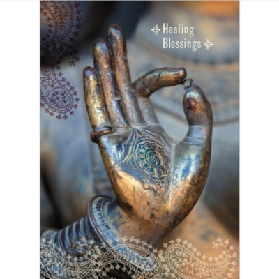 Healing Blessings Greeting Card