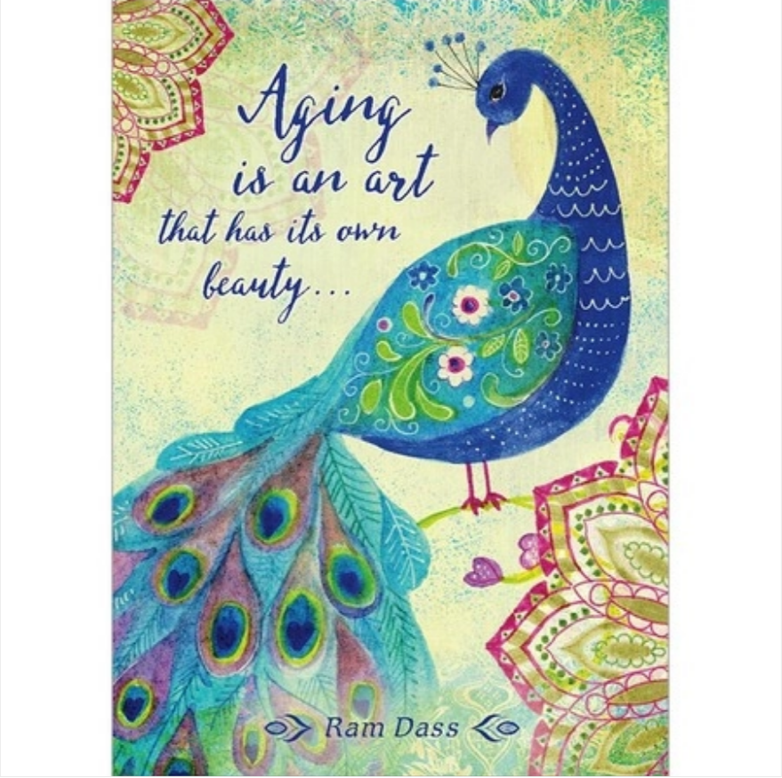 Aging Is an Art Greeting Card