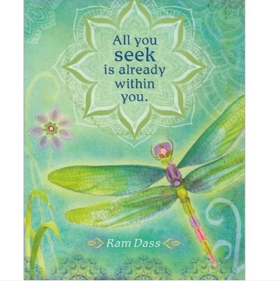All You Seek Greeting Card
