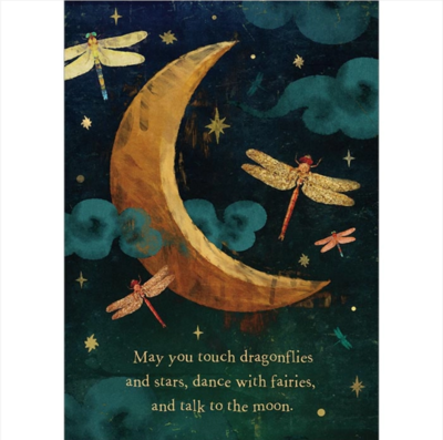 May You Touch Dragonflies Greeting Card