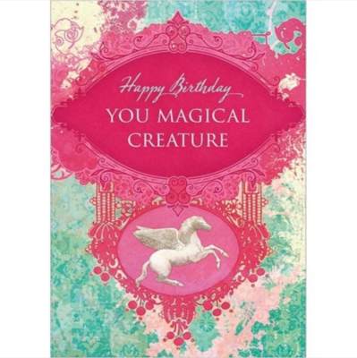Magical Creature Greeting Card