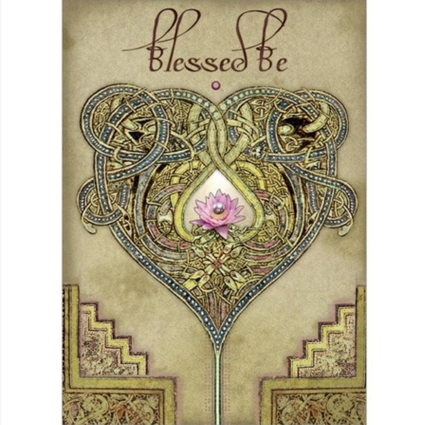Lotus Heart Greeting Card
