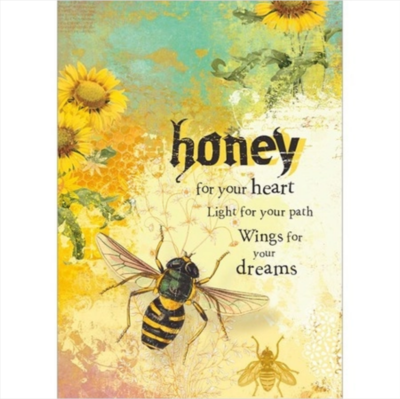 Honey for Your Heart Greeting Card