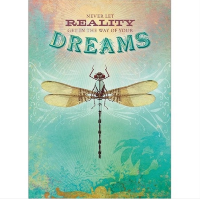 Reality Dreams Greeting Card