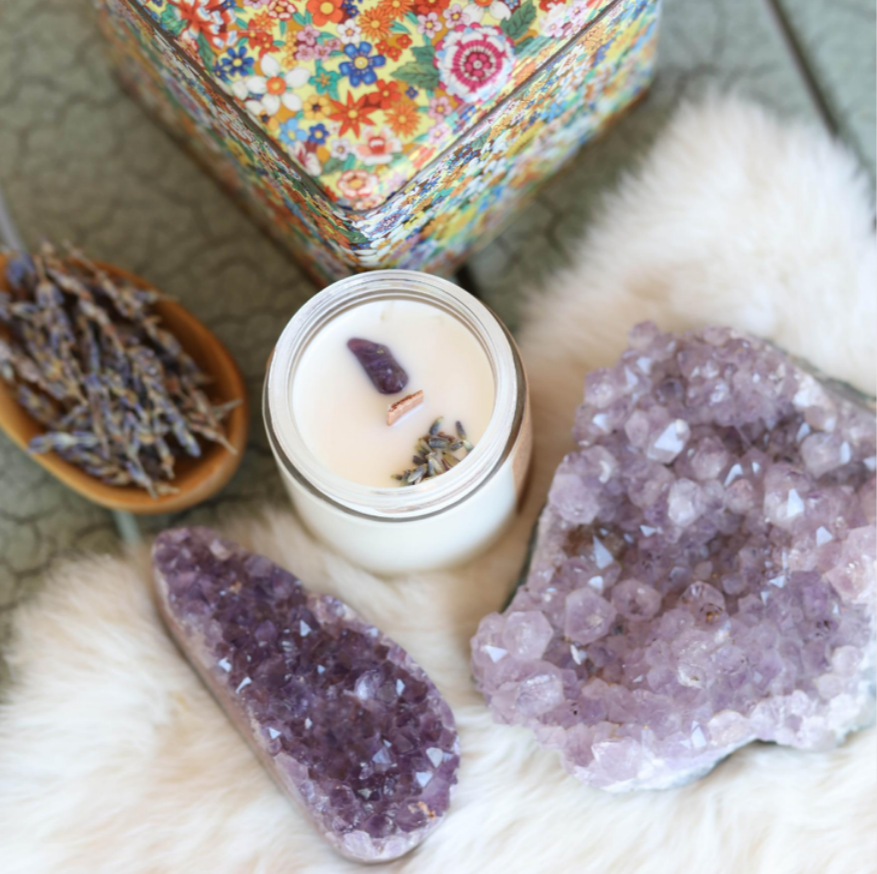 Protection Ritual Soy Candle