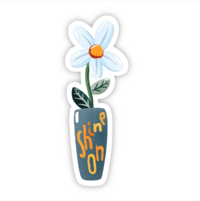 Shine On Daisy Sticker