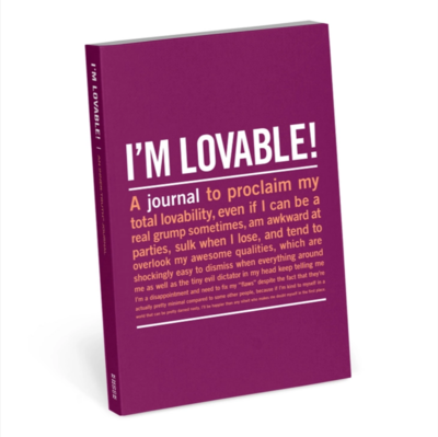 I'm Lovable Mini Inner-Truth Journal