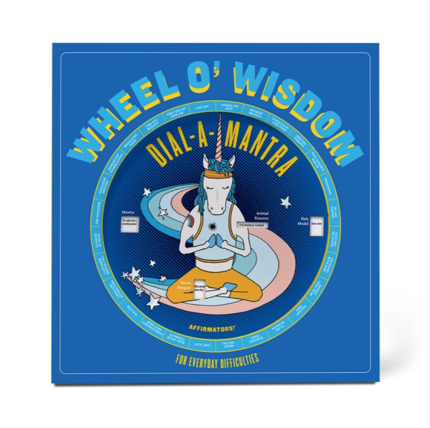 Affirmators!® Dial-a-Mantra Wheel O' Wisdom