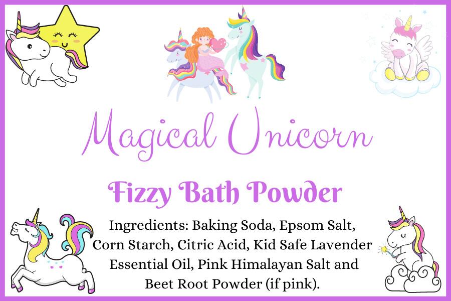 Magical Unicorn Fizzy Bath Powder