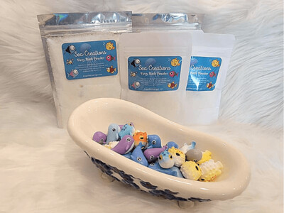 Sea Creations Fizzy Bath Powder
