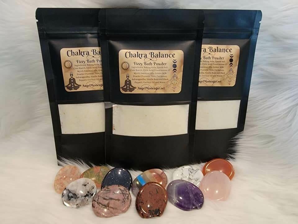 Chakra Balance Fizzy Bath Powder