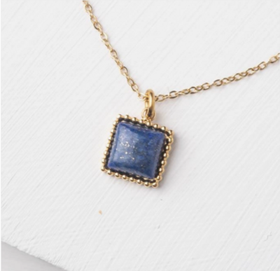 Chosen Necklace in Blue Lapis