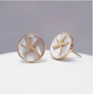 Transformed Starfish Earrings