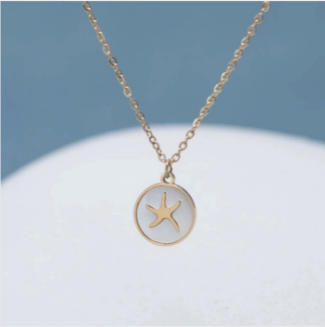 Transformed Starfish Necklace