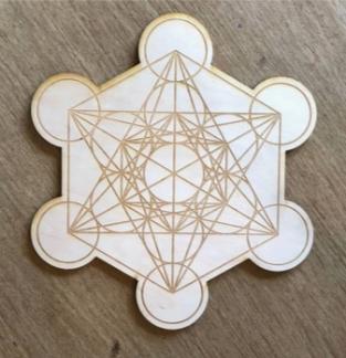 Metatron's Cube 2 Crystal Grid