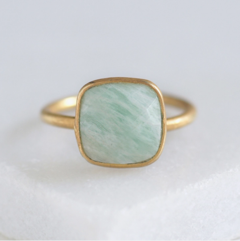 Cushion Stack-able Ring