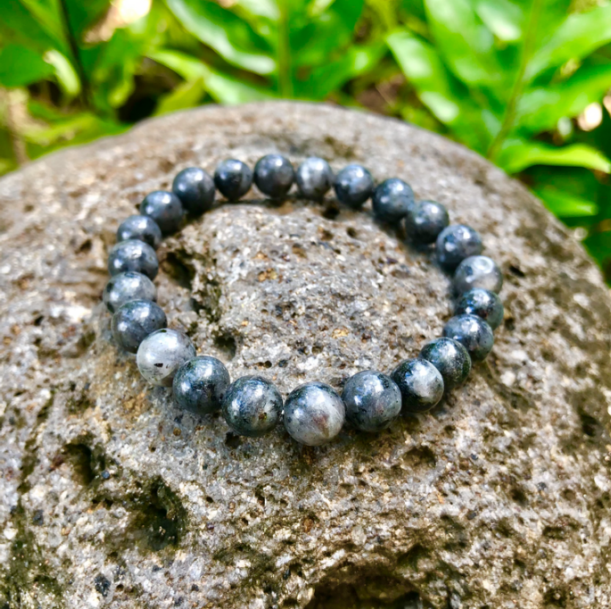 Black Labradorite Gemstone Bracelet
