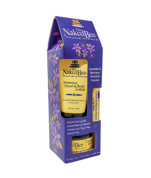 Lavender & Beeswax Absolute Gift Collection