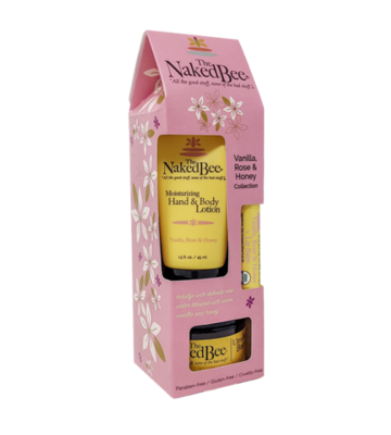 Vanilla, Rose & Honey Gift Collection