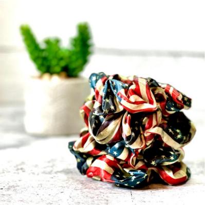 American Flag Zipper Scrunchie
