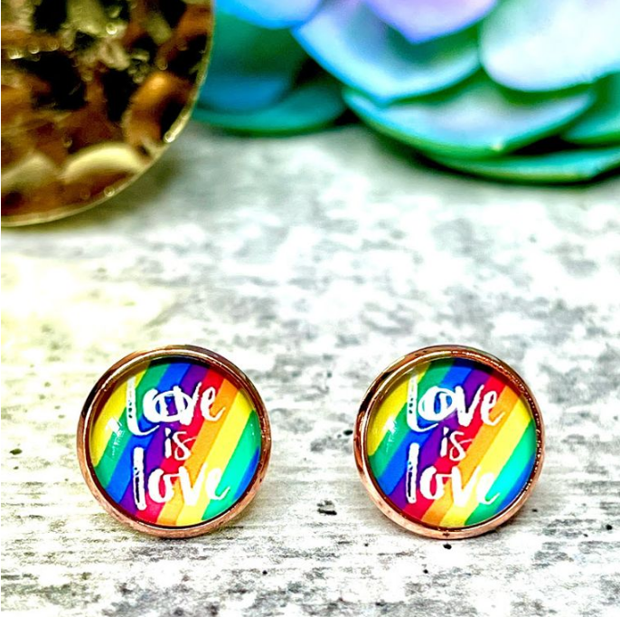 Love Is Love Earrings